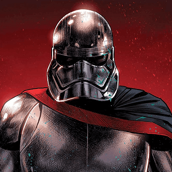 Captain Phasma #4 cover by Paul Renaud