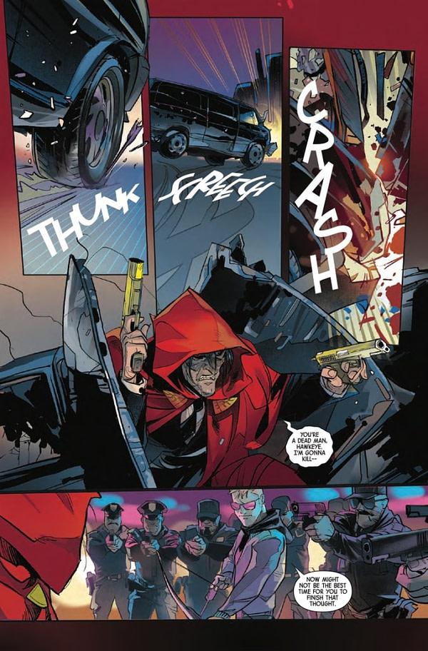 Hawkeye Freefall #1 [Preview]