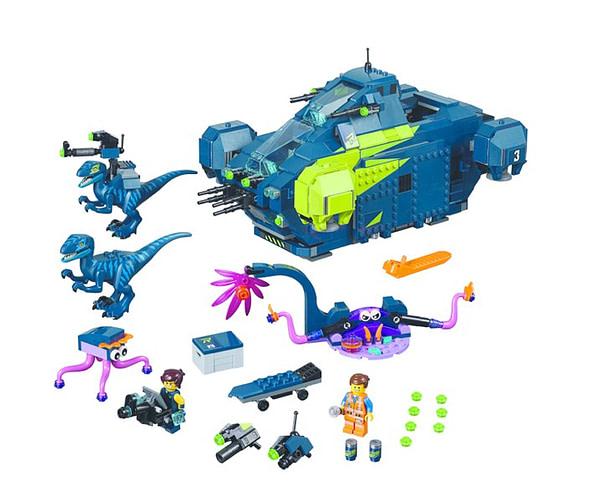 LEGO Movie 2 Rexs Rexplorer 2