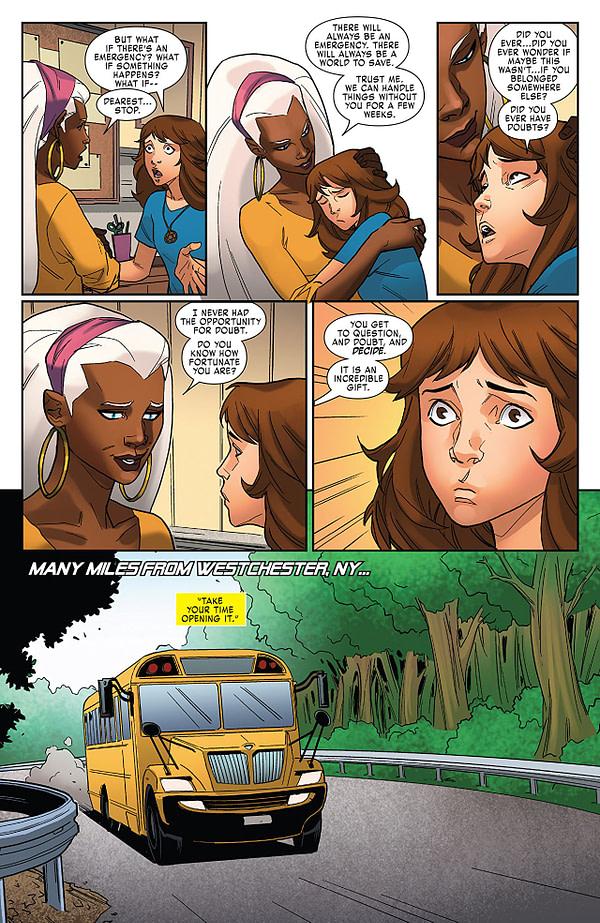 X-Men: Gold Annual #2 art by Marco Failla and Rachelle Rosenberg
