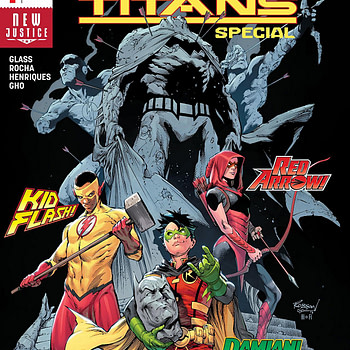 Teen Titans Special #1 cover by Robson Rocha, Trevor Scott, and Hi-Fi