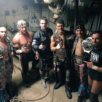 Stephen Amell Bullet Club