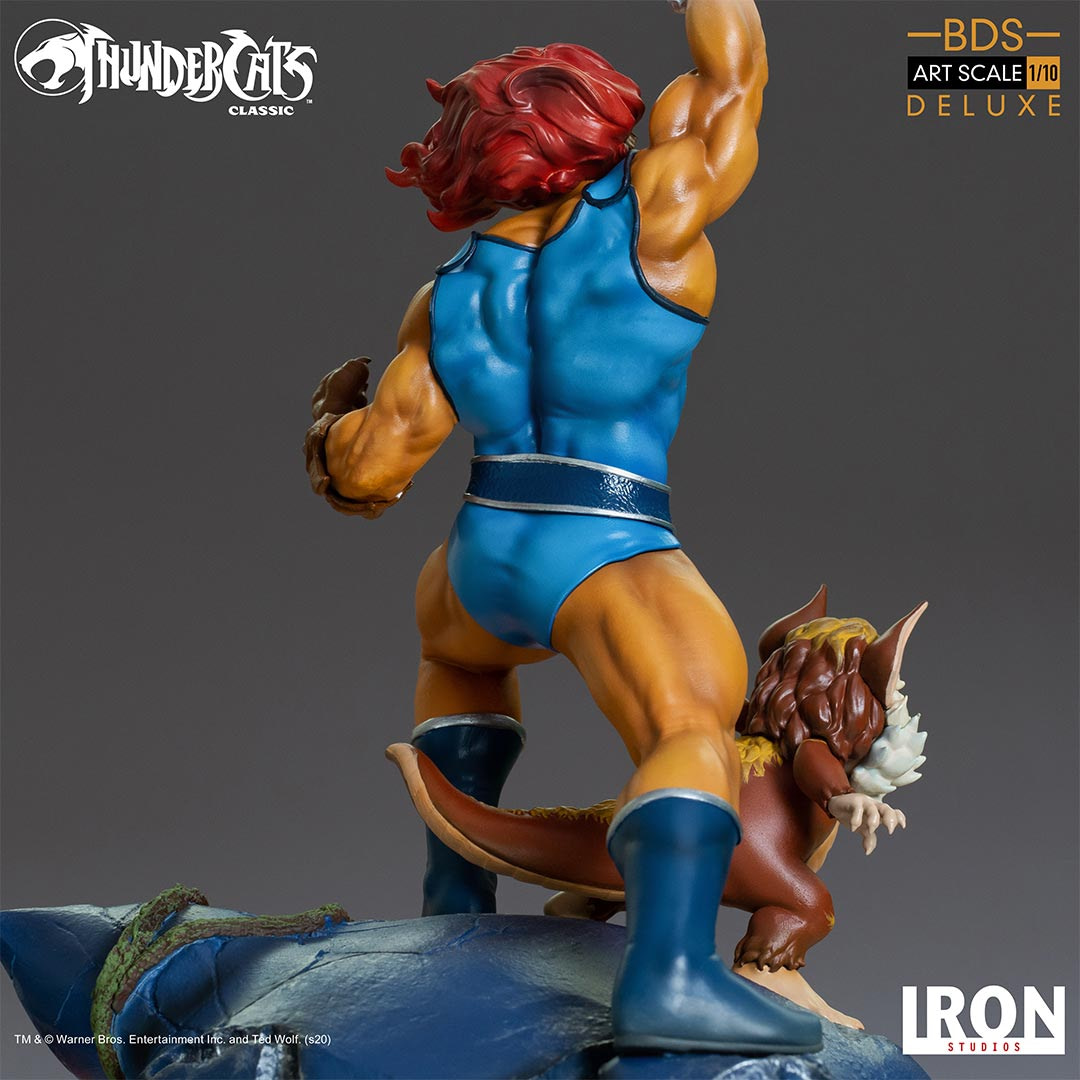 Thundercats Lion-O and Snarf Are the Final Pieces With Iron Studios