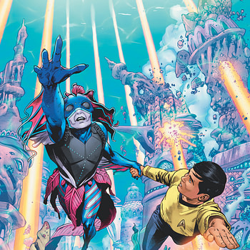 "REVIEW: Star Trek Year Five #10 -- ""The Plot Kind Of Pushes All The Dishes Off The Table"""