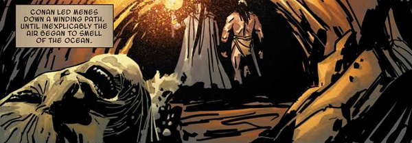 Conan Does The Goonies in Savage Sword of Conan #5 (Preview)