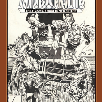 Michael Golden's Micronauts Gets an Artist Edition from IDW