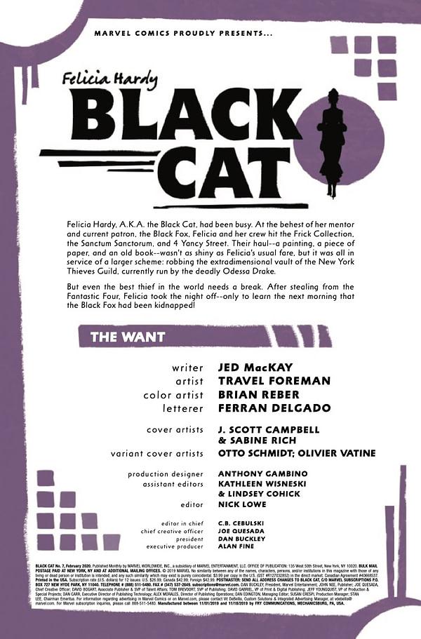 Black Cat #1 [Preview]