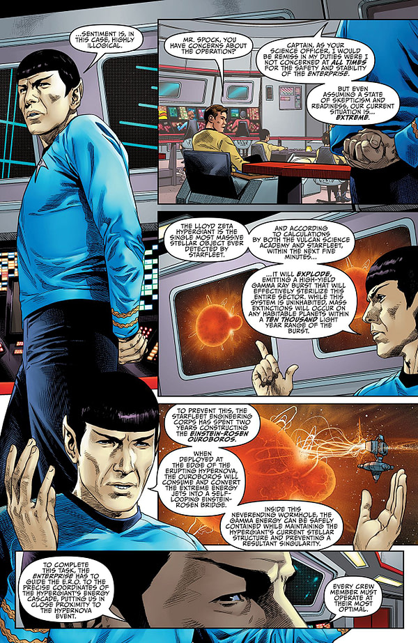 IDW's 'Star Trek: Year Five' #1 Beams up the Goods