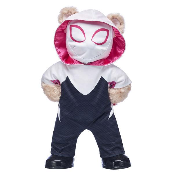 Build a Bear Spider-Verse Spider-Gwen Bear