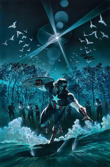LATE: Captain America #12 Slips Back Five Weeks