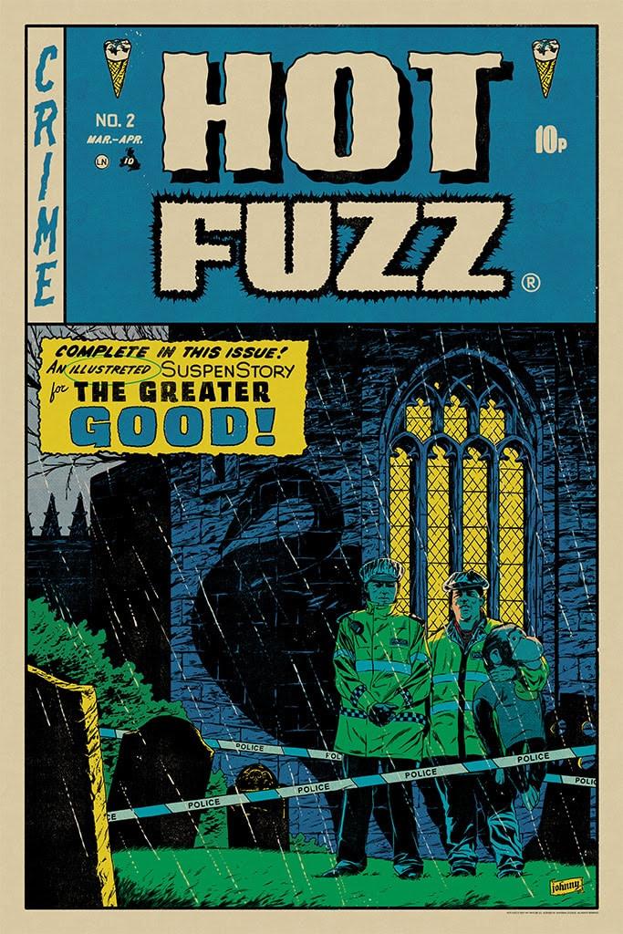 Mondo Hot Fuzz Poster