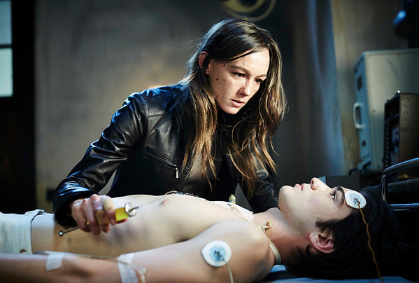 Sharni Vinson and Jackson Gallagher in Patrick
