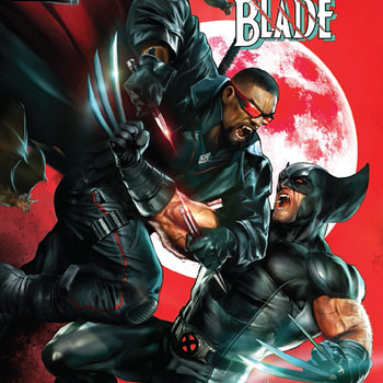 Wolverine vs. Blade #1: With Eyes Wide Open [Preview]