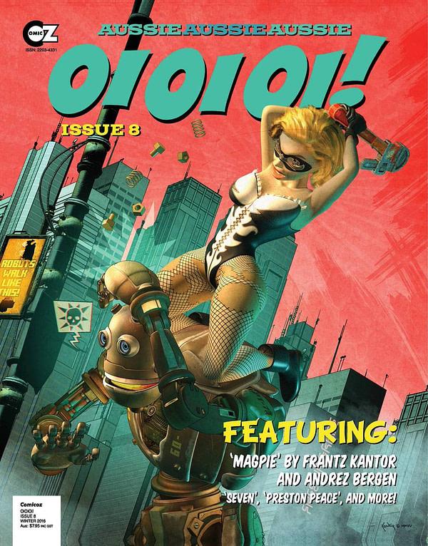 MAGPIE cover of Oi Oi Oi by Frantz Kantor