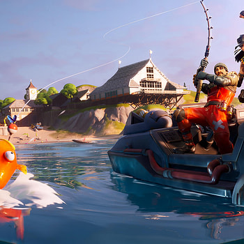 """The """"Fortnite"""" Fishing Frenzy Is Currently Underway"""
