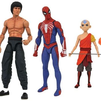 New From Diamond Select: Black Hole, Spidey, Bruce Lee, Avatar, and More