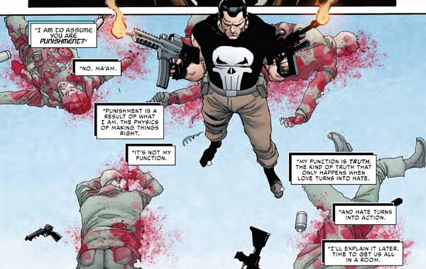 The Punisher Channels Yoda in War of the Realms Strikeforce Dark Elf Realm #1 (Preview)