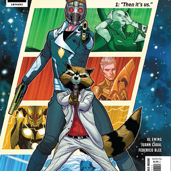 "REVIEW: Guardians Of The Galaxy #1 -- ""There's An Idiotic Kind Of Glee To This"""
