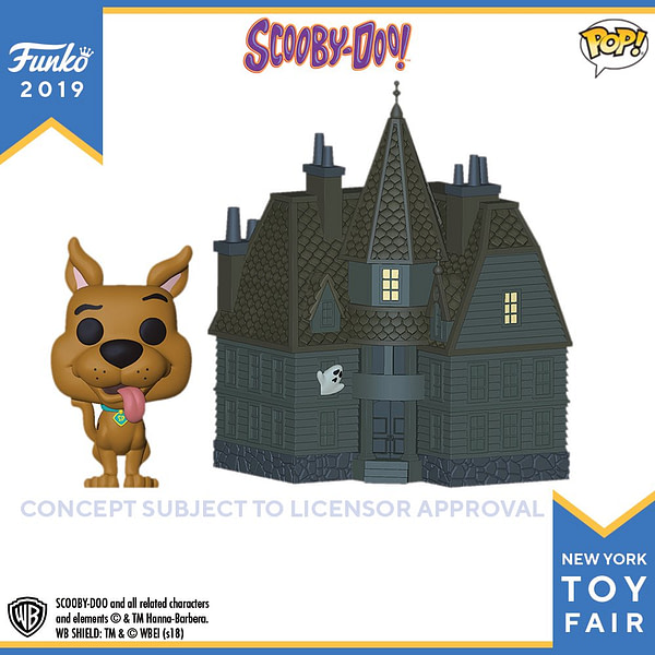 Funko New York Toy Fair Scooby Doo Mansion