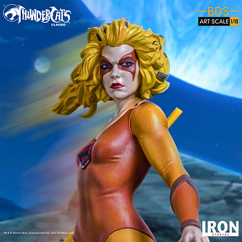 Thundercats Cheetara Stands Her Ground with Iron Studios