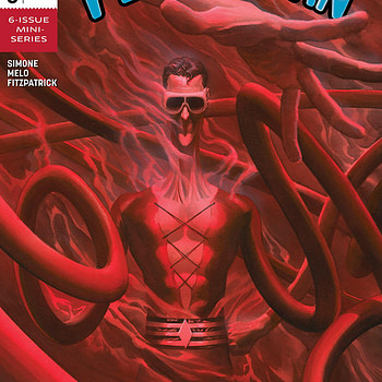 Plastic Man #3 cover by Alex Ross