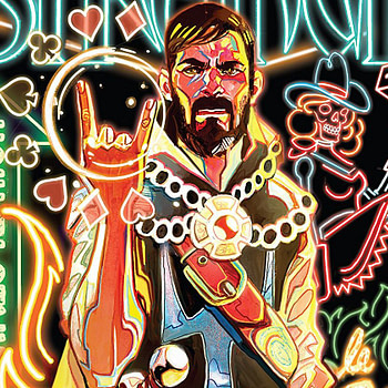 Doctor Strange #387 cover by Mike del Mundo