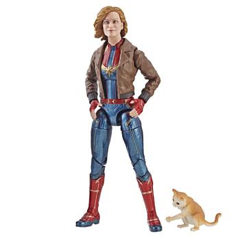 Marvel Captain Marvel 6-inch Legends Captain Marvel in Bomber Jacket Figure