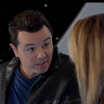 The Orville Seth MacFarlane Nothing Left on Earth Except Fishes