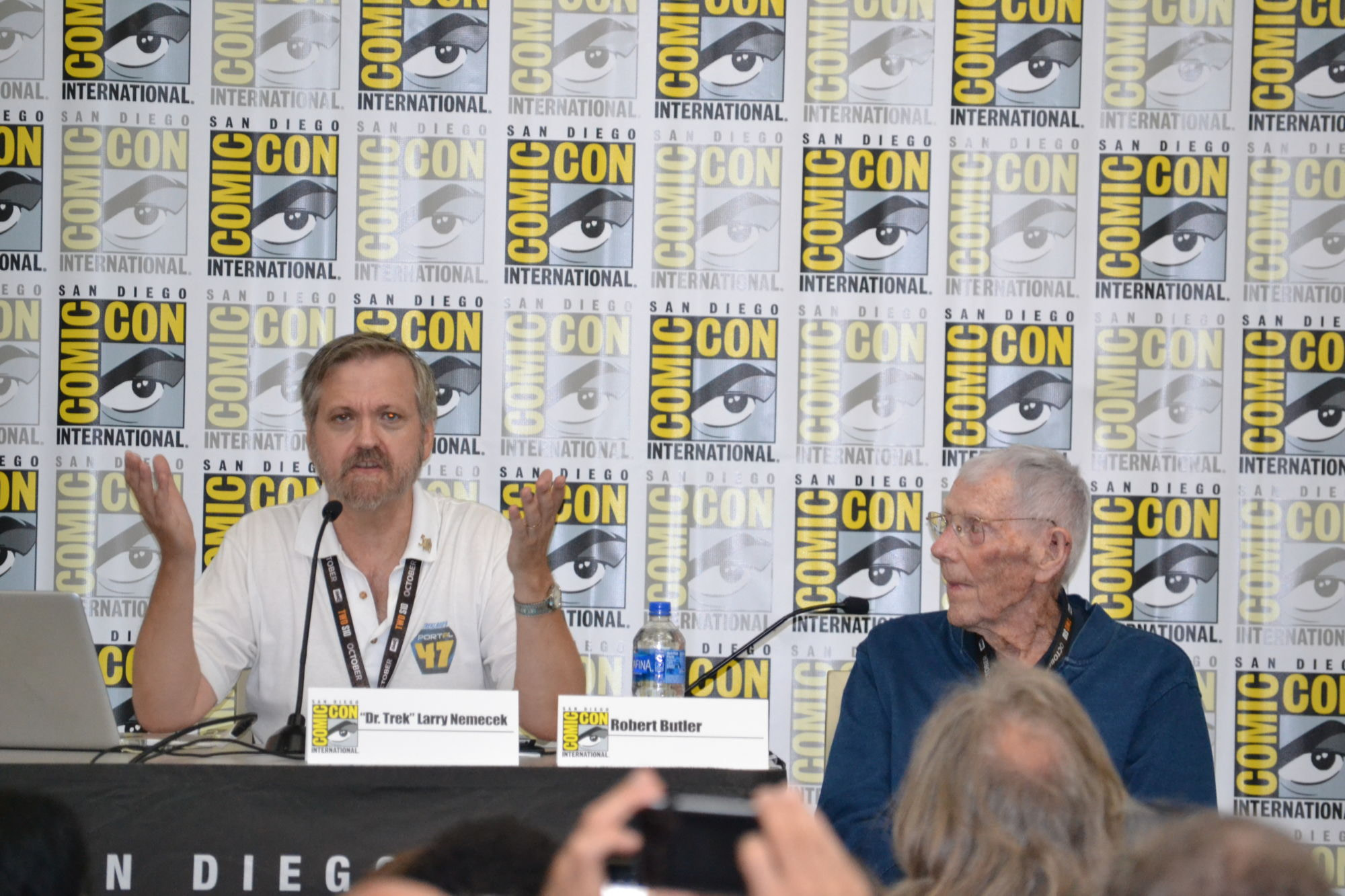 """""""Star Trek"""" Eyewitness To History: A Comic-Con Conversation With """"The Cage"""" Director Robert Butler"""