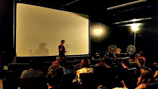 raiders q&A at Grail Moviehouse