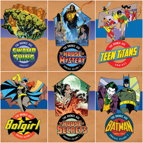 DC Comics Regig 'Bronze Age' Covers For Upcoming Collections?
