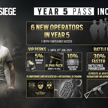"""The """"Rainbow Six Siege"""" Year Five Battle Pass Is Available"""