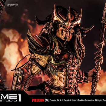 Predator Gains Japanese Armor with New Prime 1 Studio Statue