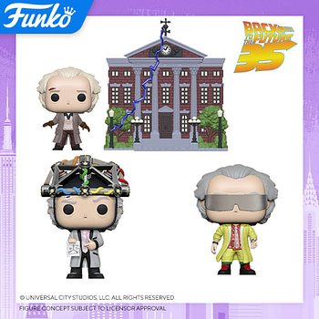 """Funko New York Toy Fair Reveals - """"Back to the Future"""""""
