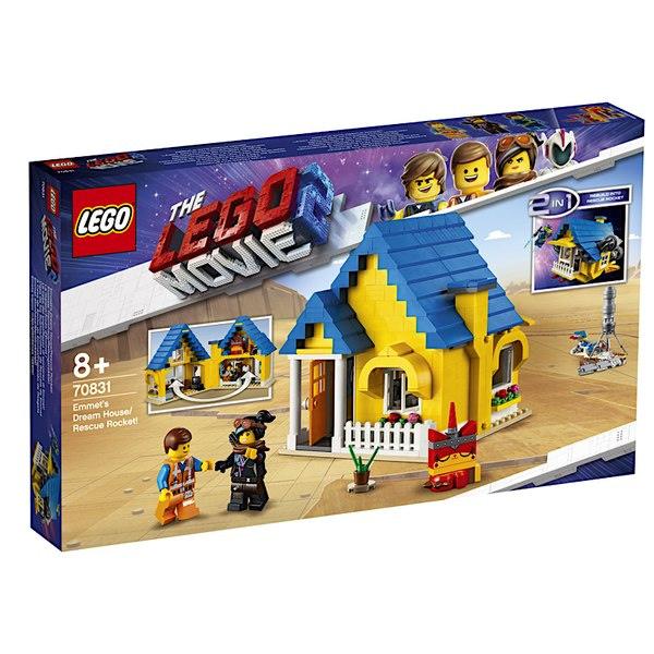 LEGO Movie 2 Emmets Dream House 1