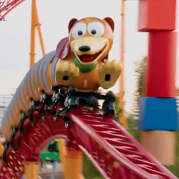 toy story land rollercoaster