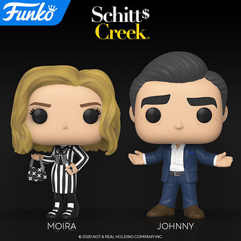 "Funko Announces ""Schitt's Creek"" Pop Vinyls with Chase"