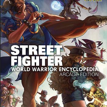 "UDON Announces ""STREET FIGHTER: WORLD WARRIOR ENCYCLOPEDIA-ARCADE EDITION"