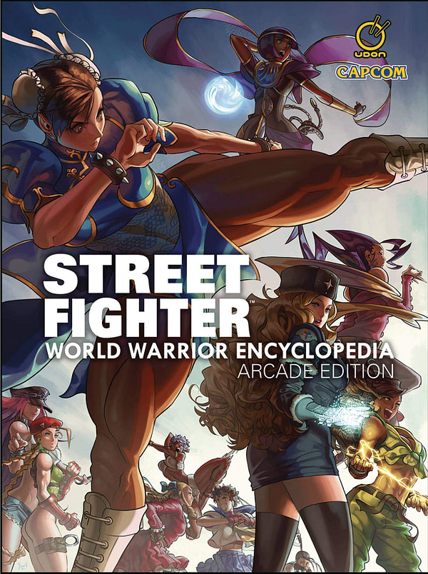 "UDON Announces ""STREET FIGHTER: WORLD WARRIOR ENCYCLOPEDIA-ARCADE EDITION"