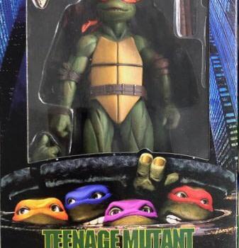 NECA Gamestop Exclusive TMNT 1990 Michelangelo 1