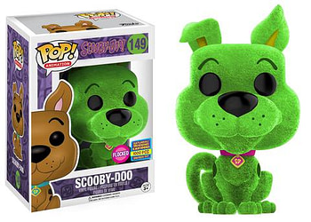 SDCC Funko Scooby Doo Flocked Lime