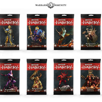 "New Games Workshop Releases for ""Warcry"""