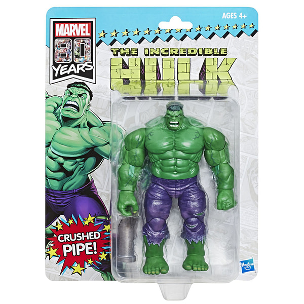 Marvel Legends 80th Anniversary Hulk SDCC Exclusive Revealed