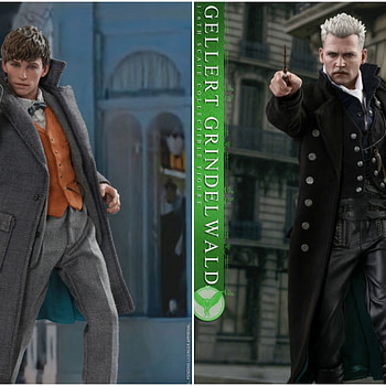 Hot Toys Grindelwald Collage