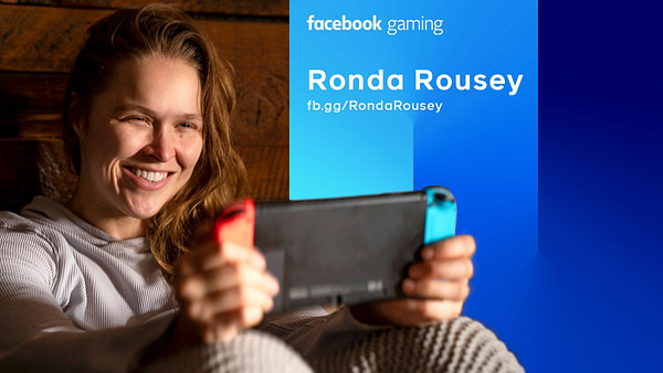 Ronda Rousey Signs New Deal With Facebook Gaming