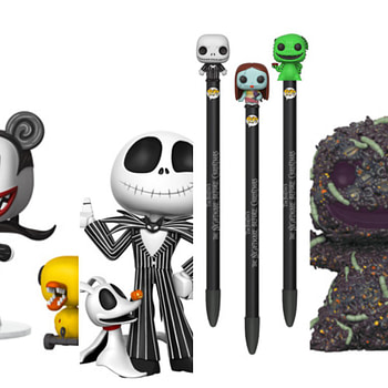 Funko Nightmare Before Christmas Collage