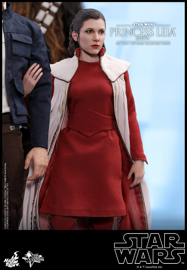 Hot Toys Bespin Gown Princess Leia 5