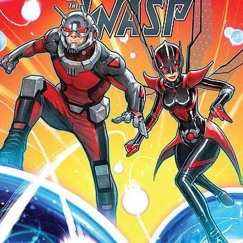 Ant-Man and the Wasp #1 cover by David Nakayama