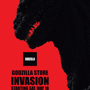'Godzilla: King of the Monsters' Stomps Into Pop Up Shops This Weekend!