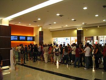 cinema queue